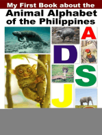 My First Book about the Animal Alphabet of the Philippines