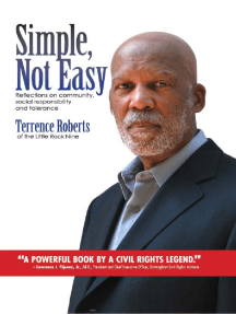 Simple Not Easy: Reflections on community social responsibility and tolerance