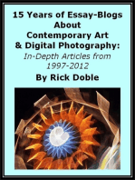 15 Years of Essay-Blogs About Contemporary Art & Digital Photography