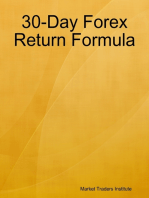 30 Day Forex Return Formula