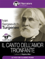 Il canto dell'amor trionfante (Audio-eBook)
