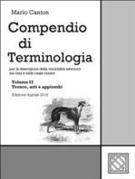Compendio di Terminologia - Vol. II