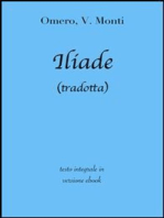 Iliade di Omero in ebook (tradotta)