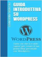 Guida Introduttiva su Wordpress