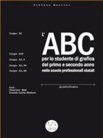 L'ABC per lo studente di grafica del primo e secondo anno nelle scuole professionali statali