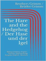 The Hare and the Hedgehog / Der Hase und der Igel (Bilingual Edition