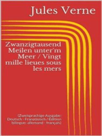 Zwanzigtausend Meilen unter'm Meer / Vingt mille lieues sous les mers (Zweisprachige Ausgabe