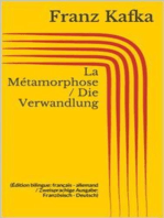 La Métamorphose / Die Verwandlung (Édition bilingue