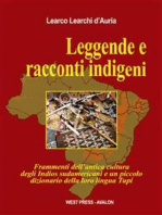 Leggende e racconti indigeni