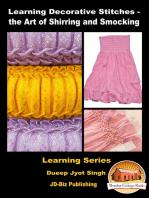 Learning Decorative Stitches