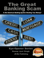 The Great Banking Scam