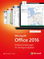 Microsoft Office 2016 (Microsoft Press)