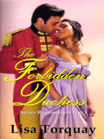 The Forbidden Duchess (Rogues from War 1)