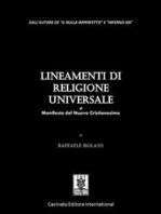Lineamenti di Religione Universale