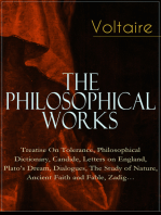 Voltaire - The Philosophical Works