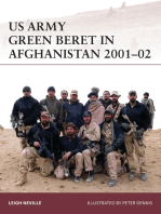 US Army Green Beret in Afghanistan 2001–02