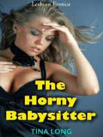 The Horny Babysitter (Lesbian Erotica)