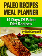 Paleo Recipes Meal Plan
