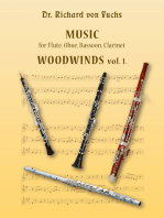 Dr. Richard von Fuchs Music for Flute, Oboe, Bassoon, Clarinet Woodwinds vol. 1.