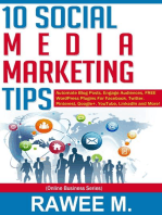 10 Social Media Marketing Tips