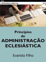 Princípios de Administração Eclesiástica