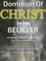 Dominion Of Christ In The Believer