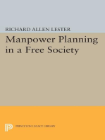 Manpower Planning in a Free Society