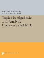 Topics in Algebraic and Analytic Geometry. (MN-13), Volume 13