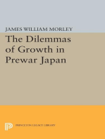 The Dilemmas of Growth in Prewar Japan