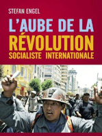 L´aube de la Révolution Socialiste Internationale