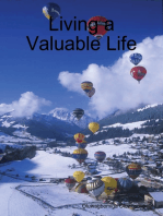 Living a Valuable Life
