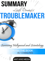 Leah Remini's Troublemaker Surviving Hollywood and Scientology Summary