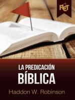 La Predicación Bíblica