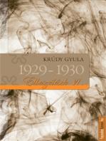 Elbeszélések 1929-1930