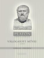 Platón válogatott művei I. kötet