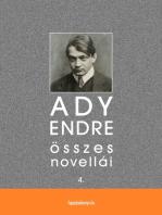 Ady Endre összes novellái IV. kötet