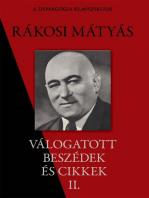 Rákosi Mátyás válogatott beszédei II. rész