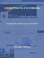 Ghid pagini Facebook