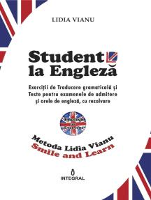 Student la Engleză
