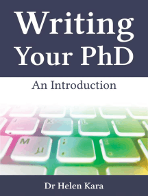 Writing Your PhD: An Introduction: PhD Knowledge, #4
