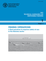 Fishing Operations. 3. Best Practices to Improve Safety at Sea in the Fisheries Sector