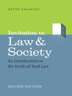 Invitation to Law and Society, Second Edition