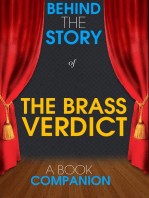 The Brass Verdict - Behind the Story (A Book Companion)