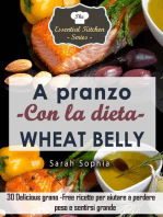 A pranzo con la dieta Wheat Belly