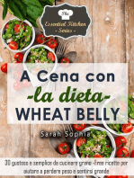 A cena con la dieta Wheat Belly