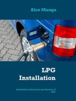 LPG Installation: Installation instructions and function of LPG