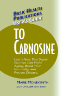 User's Guide to Carnosine