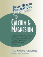 User's Guide to Calcium & Magnesium