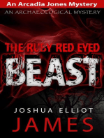 The Ruby Red Eyed Beast (An Arcadia Jones Mystery, #5)