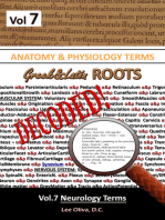 Anatomy & Physiology Terms Greek&Latin ROOTS DECODED! Vol.7